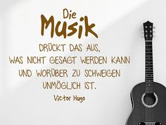 Die Musik drückt das aus, was nicht Music expresses what can not be said and what it is impossible to keep silent about. Originally Posted by Victor Hugo – Music saying as a wall tattoo Motivational Quotes For Life, Good Life Quotes, Inspiring Quotes About Life, Inspirational Quotes, Drums Quotes, Music Quotes, Citations Victor Hugo, Cute Text, What Is Life About