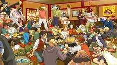 ジブリ宴会