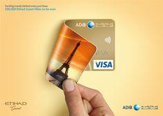 ADIB - Card Benefits on Behance Creative Banners, Ads Creative, Creative Advertising, Advertising Design, Creative Poster Design, Creative Posters, Banks Advertising, Banks Ads, Credit Card Design