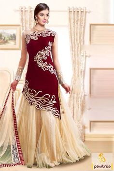 Sensational maroon wedding bridal anarkali salwar suit provides you princess like feel with it's eye-catching embroideries, cuts and flawless umbrella style.   http://www.pavitraa.in/catalogs/designer-salwar-kameez/  #pavitraa, #salwarsuits, #anarkalisalwarsuits, #designerdresses, #partyweardresses, #salwarkameez, #lehengasuits, #bollywooddresses, #onlinesuit, #promdress