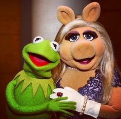Best couple ever kermit and miss piggy