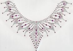Iron On Rhinestone Crystal Transfer