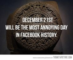Most annoying day in Facebook history…