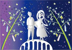 The Myth of the Tanabata Festival is one of passion and loss. It tells the tale of a tragic romance which reminds us every year of the meaning of true love.