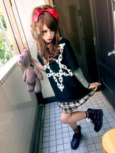 METO of MEJIBRAY's look for their in-store event at Takadanobaba ZEAL LINK store on Sept. 29th, 2014.