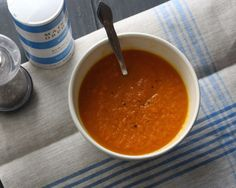The Pampered Baby: Yummy Mummy Monday: Carrot & Ginger Soup