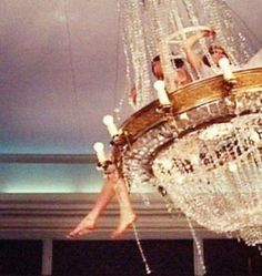 Swinging from a chandelier with champagne; what more can a girl ask for? Whatever Forever, Young Wild Free, Under Your Spell, A Little Party, Space Girl, All I Ever Wanted, Tumblr, Thing 1, All That Glitters