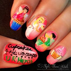#Cupcake4KidsWithCancer , Check out some #cupcakefairies on blog today !http://stylethosenails.blogspot.com/2015/09/cupcake-fairy-nails-for-cupcakes-4-kids.htmlStyle Those Nails: Cupcake Fairy Nails for Cupcakes 4 Kids with Cancer- National Cupcake Day