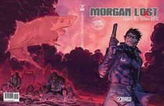 Lucca Comics & Games 2015: svelata la variant di Giuseppe Camuncoli per Morgan Lost