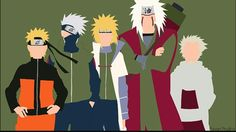Naruto & Kakashi & Minato & Jiraiya & Hiruzen wallpaper ~ From '' Naruto (probably my life) '' xMagic xNinjax 's board ~
