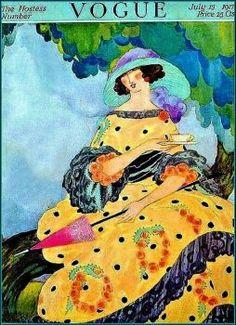 Vogue ~ July 15, 1917 (140 pieces)