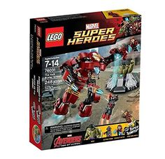 LEGO Superheroes 76031: The Hulk Buster Smash: Amazon.co.uk: Toys & Games