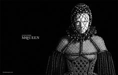 Edie Campbell has reigned in some huge campaigns this season, including Lanvin, Jil Sander, and Marc Jacobs, but her new turn as the face of Alexander McQueen can be described in one word: regal.  After walking in the Fall 2013 show for the fashion house back in March and rocking the label thi
