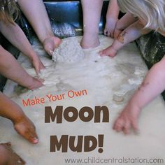 Task Shakti - A Earn Get Problem Making Moon Mud Child Central Station - Fun Easy Recipe For Hours Of Messy Fun
