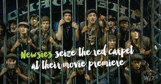 // Jeremy Jordan as Jack Kelly in Disney's Newsies The Broadway Musical Newsies gave all of us something to