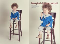 Conceptual children's portrait     Photographer: Alena Balabanova   Fashion Designer & Stylist: Anastasia Kurbatova   Post-production - Anastasiya Kurbatova   MUAH: Anastasia Loginova   Model - Nikita  2013