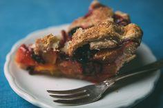 Peach-Blackberry Pie. Summer flavors at their finest!