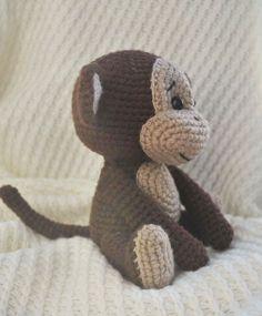 Crochet naughty monkey amigurumi pattern