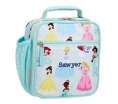 177b885105b Mackenzie Aqua br Disney Princess Lunch Bag. Reusable Lunch BagsPottery  Barn KidsBaby ...