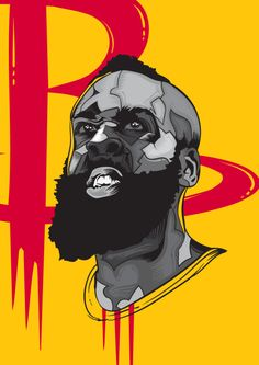 James Harden Most Valuable Beard Illustration