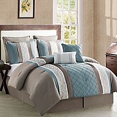 image of VCNY Farion 8-Piece Comforter Set