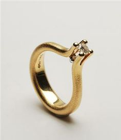 Ole Lynggaard, En Love Diamond ring, Brillant på ca. 0.20 ct