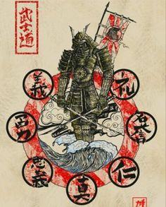 Un ninja a re tonto el tipo Samurai Drawing, Samurai Artwork, Ronin Samurai, Samurai Warrior, Bushido Tattoo, Samourai Tattoo, Karate Shotokan, Character Art, Character Design