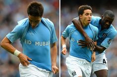 Samir Nasri celebrating Eid in his own way.