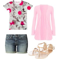 Goodbye winter and Hello spring by her010499 on Polyvore featuring polyvore, fashion, style and Levi's