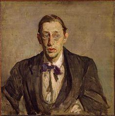 Jacques-Emile Blanche - 1861-1942 - portrait de Maurice Ravel 1875-1937