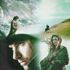 Aidan Turner - Irish Selkie Another fabulous collage by Linda Johansen