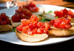 Turns out bruschetta is actually just salsa on bread instead of corn chips. (Photo: Alexandra Zakharova/CC BY 2.0)