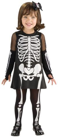 Toddler Skeleton Costume - Kids Costumes