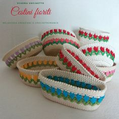 This huge collection of free crochet basket patterns offers a variety of designs, styles, stitches, techniques, and shapes that will be really big fun! Crochet Home, Crochet Gifts, Free Crochet, Knit Crochet, Crochet Basket Pattern, Crochet Patterns, Reverse Single Crochet, Sunburst Granny Square, Crochet Ornaments