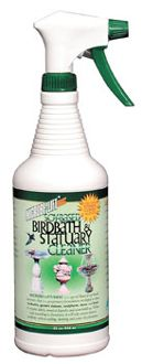 Microbe-Lift Soy based fountain and birdbath cleaner.