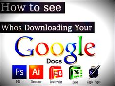 How to see number of downloads of a Google Docs file