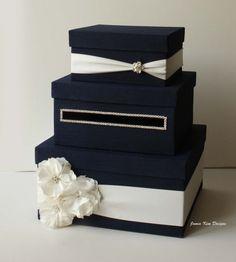 wedding card box money box gift card holder by jamiekimdesigns 10900