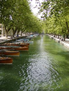 Channel - Annecy, Rhone Alpes