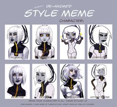 Style Meme with Android GLaDOS by TwinklePowderySnow. my fav. is Marvel