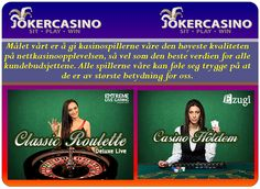 Thumbnail for casino bonus, norsk kasino, , joker, kasino bonuser