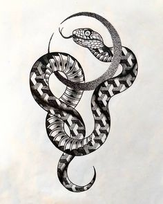 Snake and Moon Eseguito presso/ Snake Drawing, Snake Art, Tattoo Sketches, Tattoo Drawings, Blackwork, Small Tattoos, Tattoos For Guys, Black Snake Tattoo, Apple Tattoo
