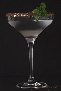 Chocolate Peppermint Martini-Recipe
