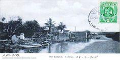 Rio Tamesi en 1904