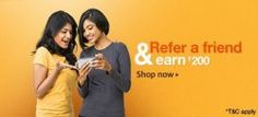 Amazon Refer A Friend And Get Rs.200 Amazon.in Gift Card