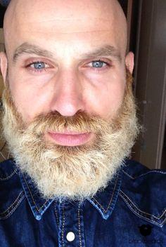 Alper mit mächtigem blondem Hollywoodian. Wir sind begeistert von deinem Bart. Danke für deinen Beitrag.