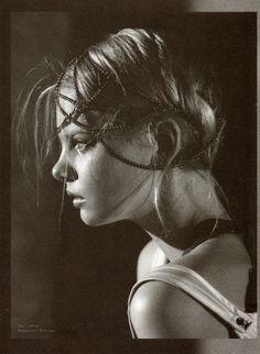 Bliss Lau headpiece. S Magazine.