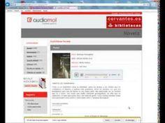▶ Audiolibros en las Bibliotecas del Instituto Cervantes.