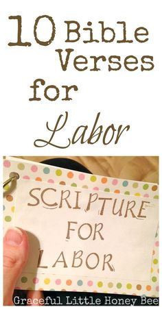 These bible verses will help to prepare you mentally and spiritually for the birth of your baby.