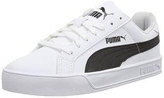 Puma Puma Smash Vulc, Unisex-Erwachsene Sneakers, Weiß (white-black 05), 42.5 EU (8.5 Erwachsene UK) - http://uhr.haus/puma-6/42-5-eu-puma-unisex-erwachsene-smash-vulc-sneakers-5