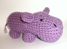 It is a purple hippo, you have no idea how happy this makes me.